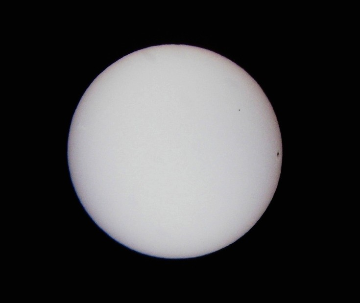 Transit of Mercury Photo -- 11/08/2006 at 1507 EST