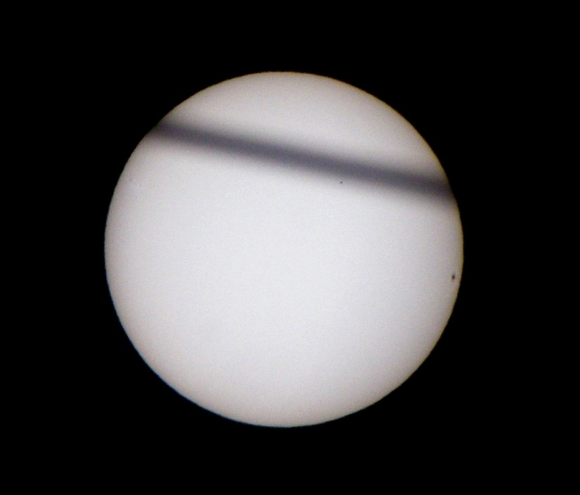 Transit of Mercury Photo -- 11/08/2006 at 1604 EST