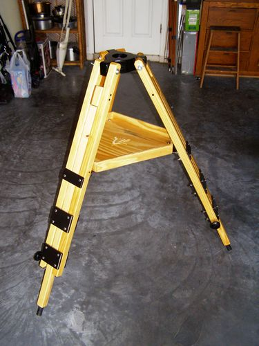 "Click to go to the VSC/SAO Construction Overview of the ""North Star II"" Field Tripod!"