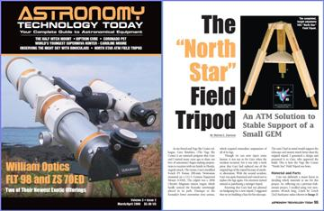 "Click this image to read Mel Dawson's ATT article ""The North Star Field Tripod"""