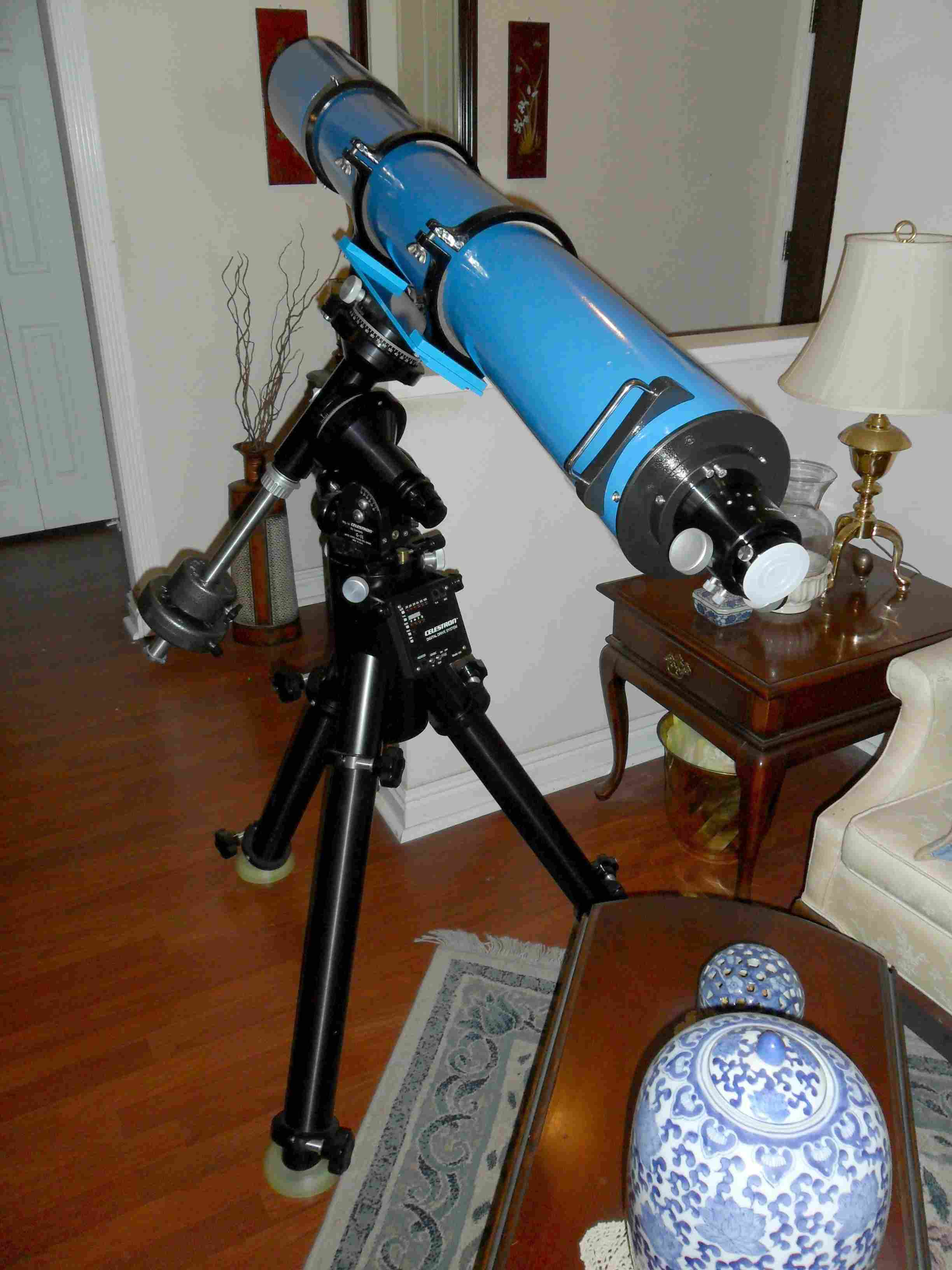 "Completed Jaegers GJD 6"" f/10 Refractor - Rear View"