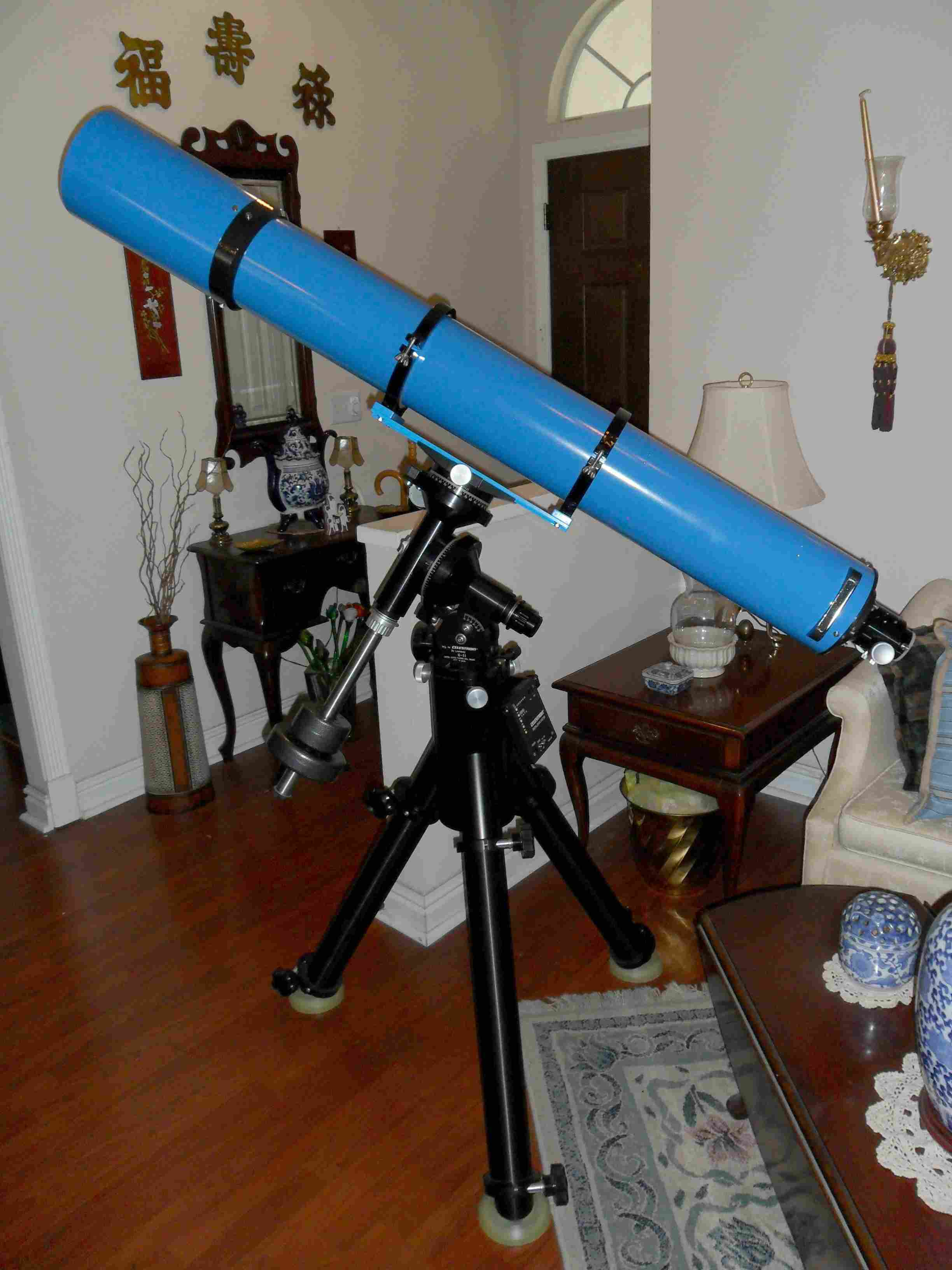 "Completed Jaegers GJD 6"" f/10 Refractor - Side View"