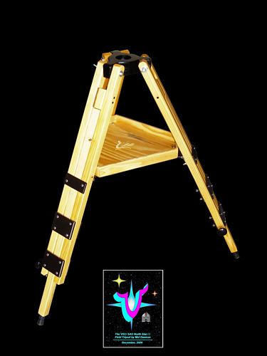 "Construction Overview of the VSC ""North Star II"" Field Tripod. Click to visit this section."