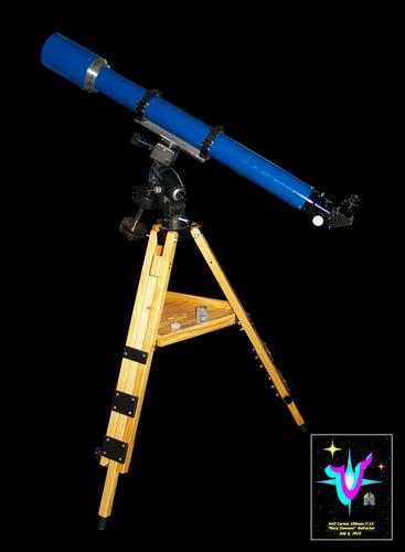 "Construction Overview of the VSC/ SAO/ Carton 100mm f/13  ""Mary Dawson"" Refractor. Click to visit this section."
