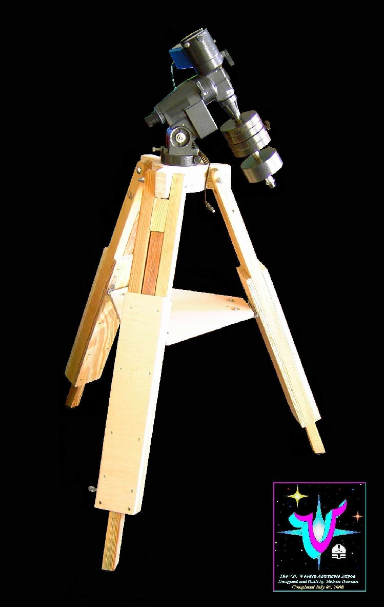 "Construction Overview of the VSC ""North Star"" Field Tripod. Click to visit this section."