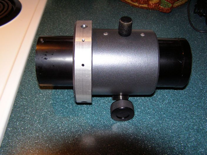 "2.7"" (2.0"" I.D.) Rack & Pinion Focuser from Meade 127ED Refractor."